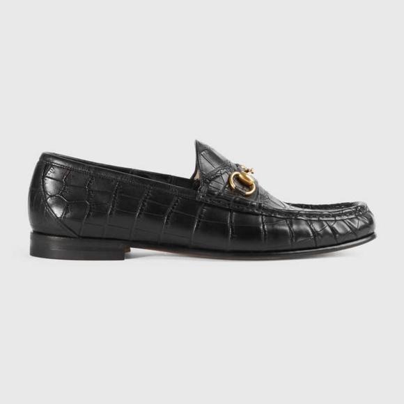 5aefb514d3c Gucci Other - GUCCI 1953 Horsebit crocodile loafer